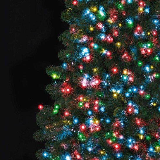 Christmas Tree Lights.Details About 750 Multi Coloured Ultrabright Led Christmas Tree Bright Lights