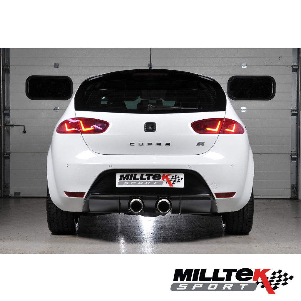 milltek ssxse139 seat leon 1p cupra r 3 cat back exhaust. Black Bedroom Furniture Sets. Home Design Ideas