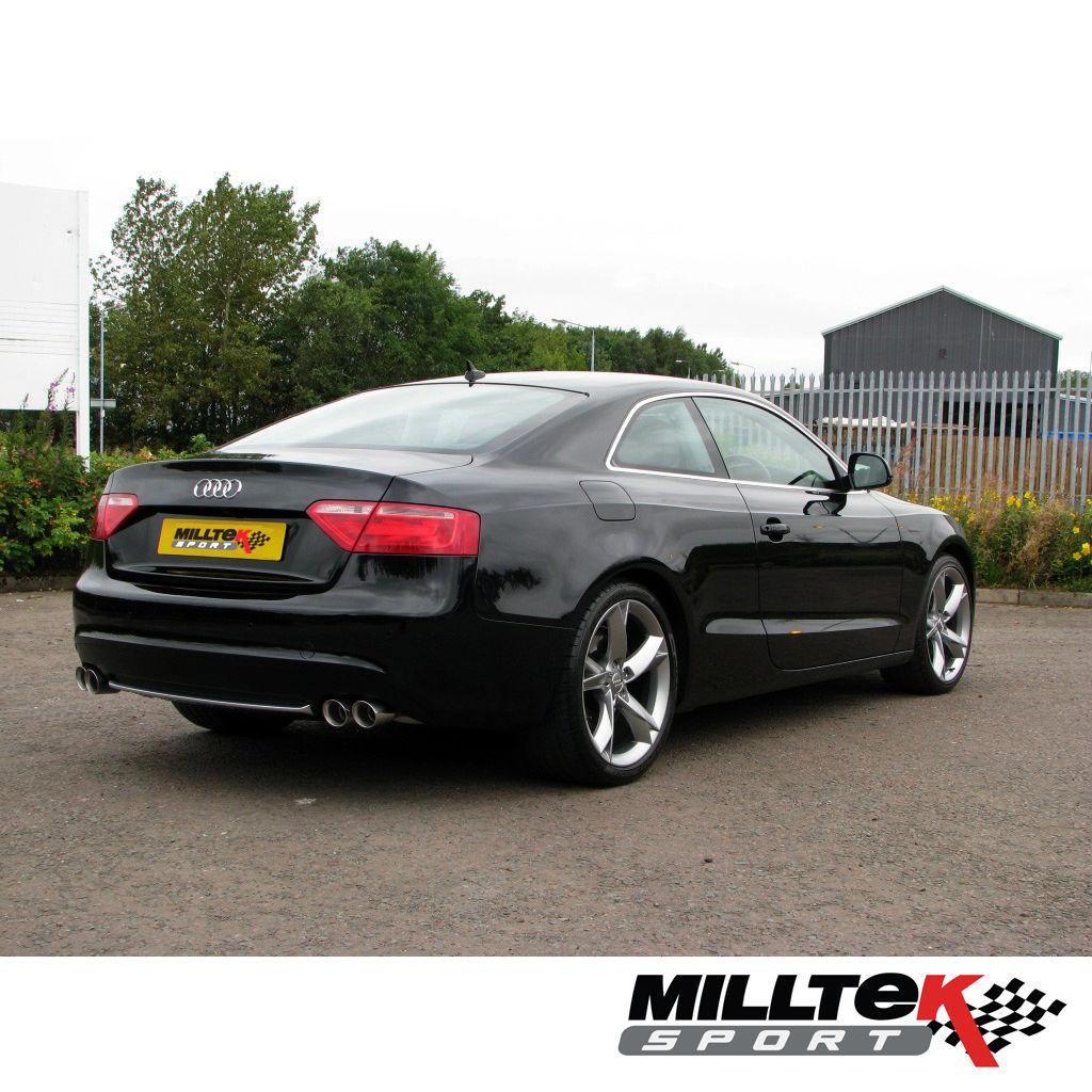 Milltek SSXAU274 Audi A5 3.0 TDI Coupe Quattro DPF 2.76