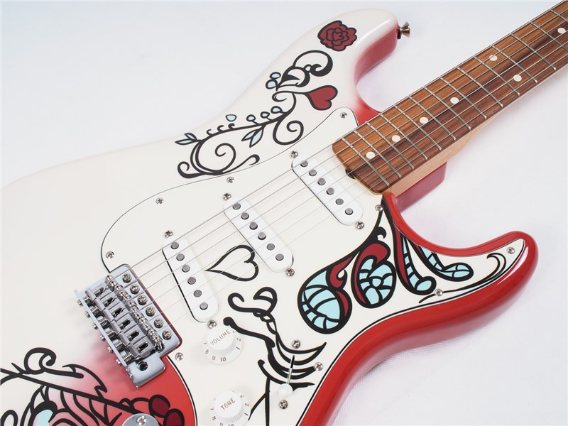 fender jimi hendrix monterey stratocaster 885978857807 ebay. Black Bedroom Furniture Sets. Home Design Ideas