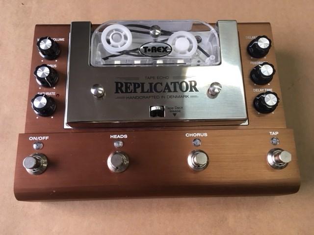 t rex replicator tape delay pedal b stock ebay. Black Bedroom Furniture Sets. Home Design Ideas