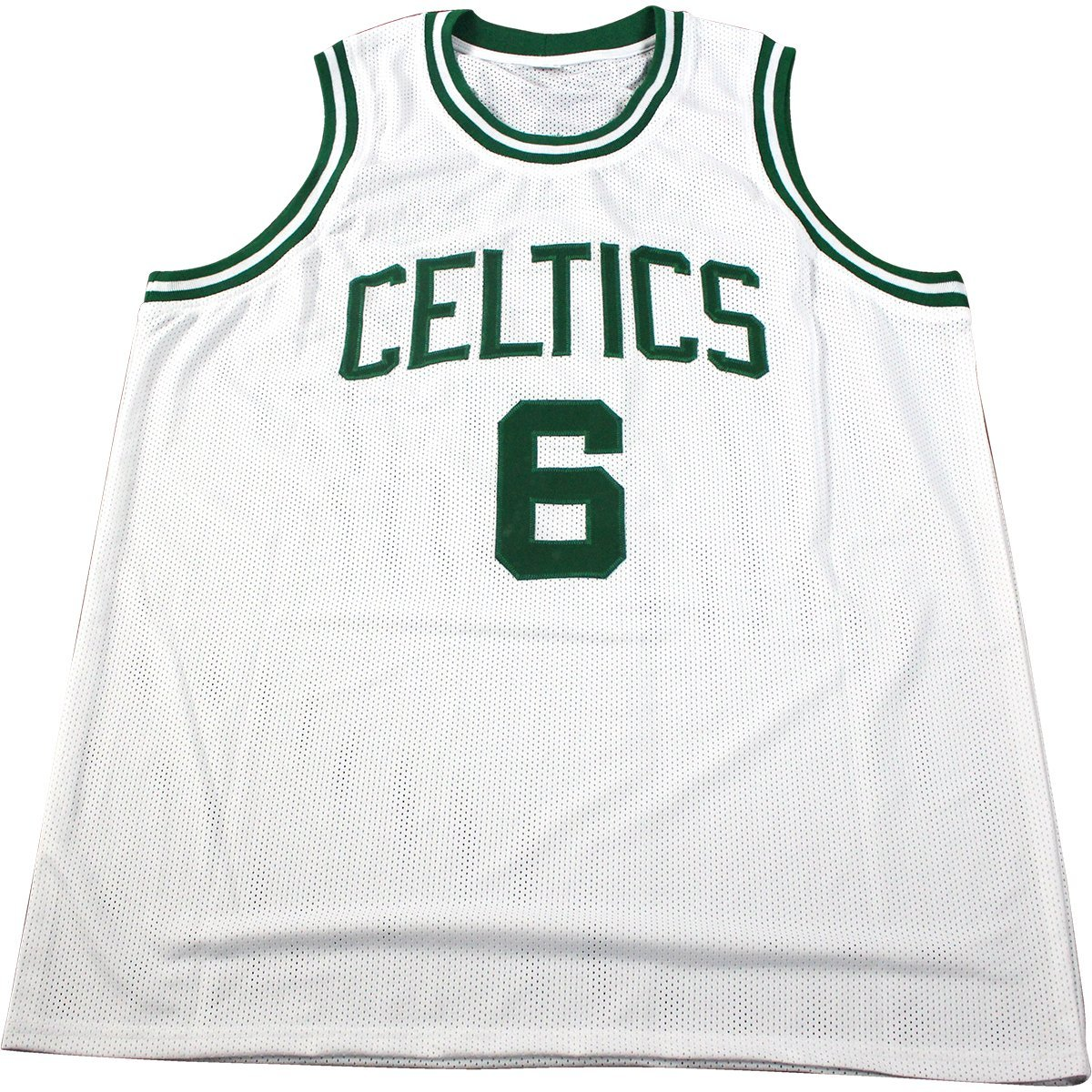 70db49417db Bill Russell Signed White Boston Celtics Jersey (Hollywood Collectibles  Auth)