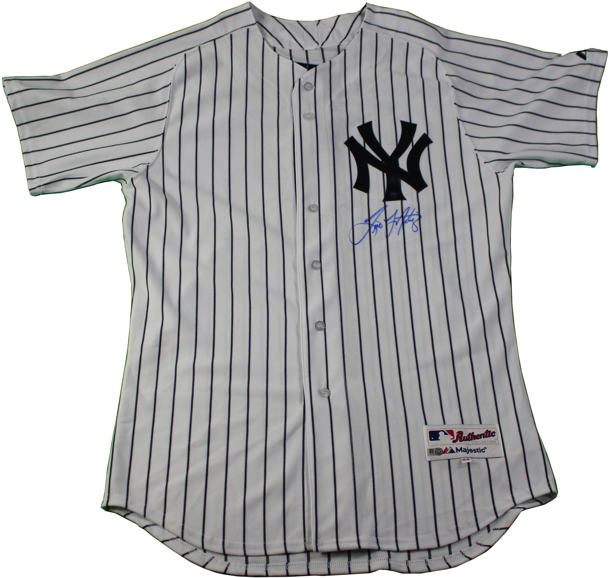 Tino Martinez Signed New York Yankees 24 Authentic Pinstripe Jersey