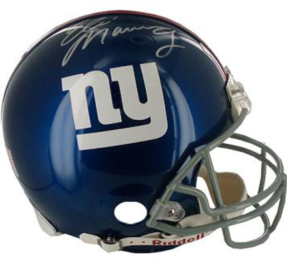 Eli Manning Signed Full Size Replica Giants Helmet  9459f84c2
