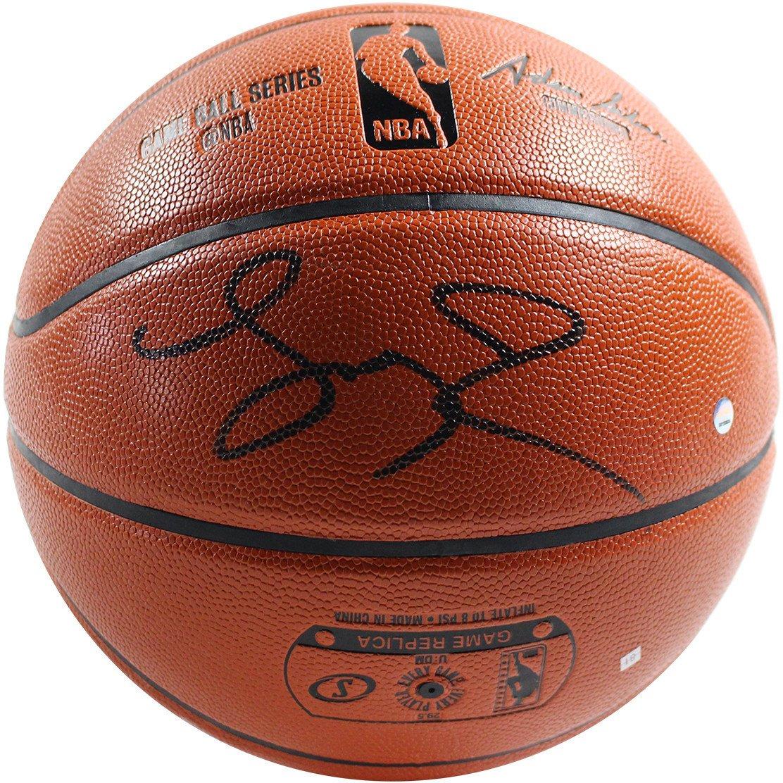 Details about Steiner Larry Johnson Signed NBA I O Basketball (Signed in  Black) dde1f5325