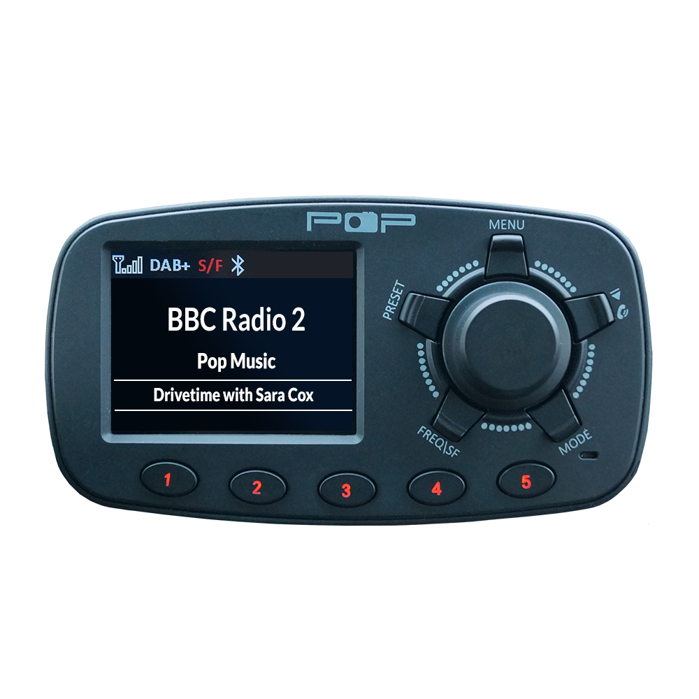 popyourcar car dab radio adapter bluetooth fm. Black Bedroom Furniture Sets. Home Design Ideas