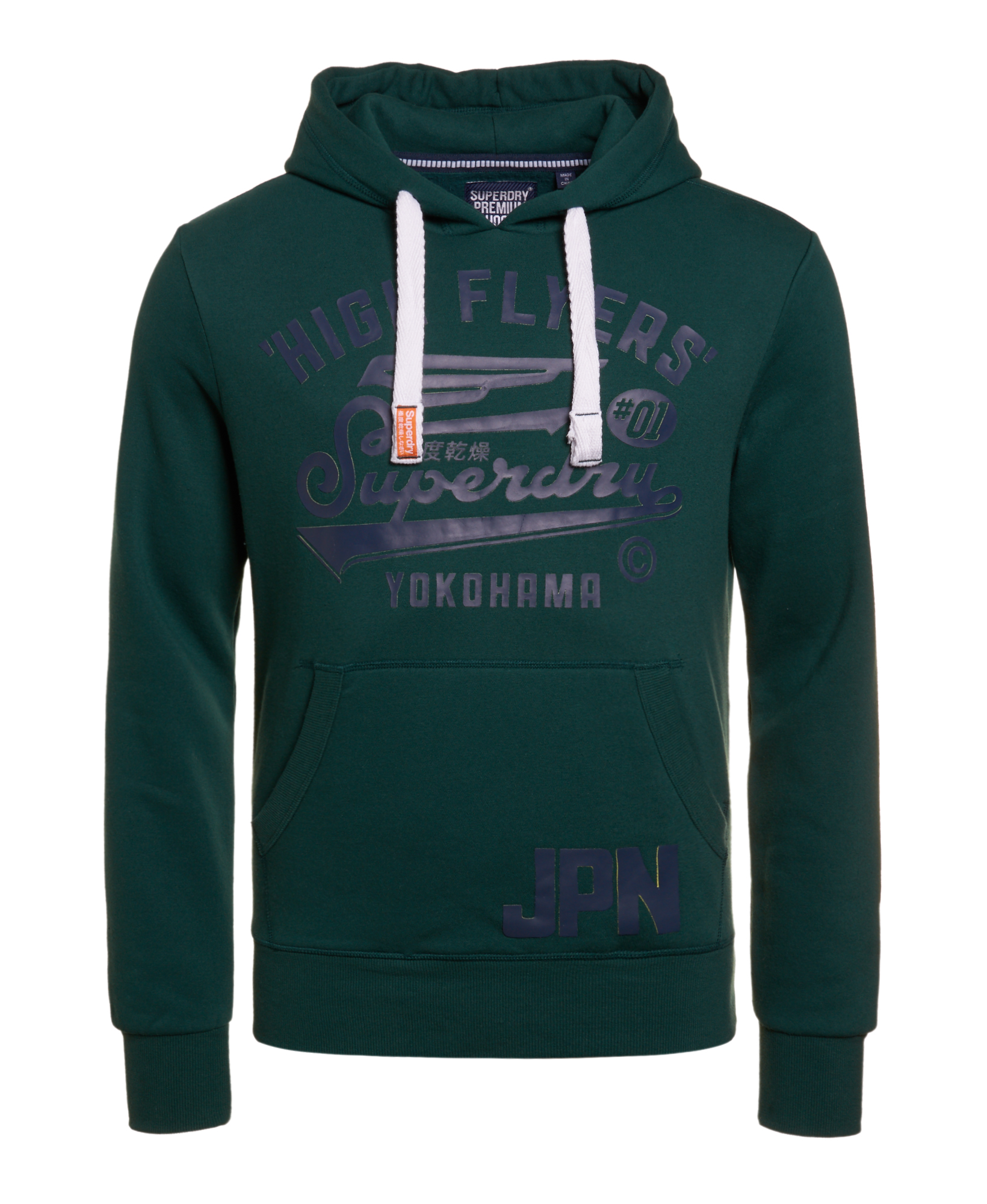 Details about Mens Superdry High Flyers Hoodie Spruce