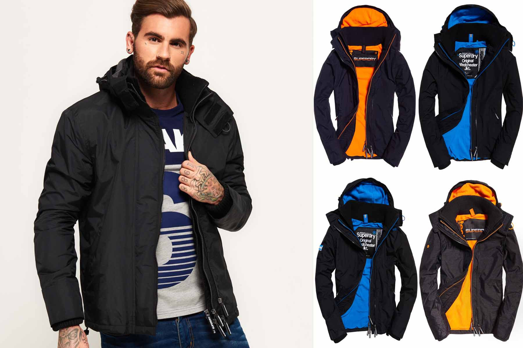 f4686173a264f Sentinel New Mens Superdry Jackets Selection - Various Styles & Colours  20113