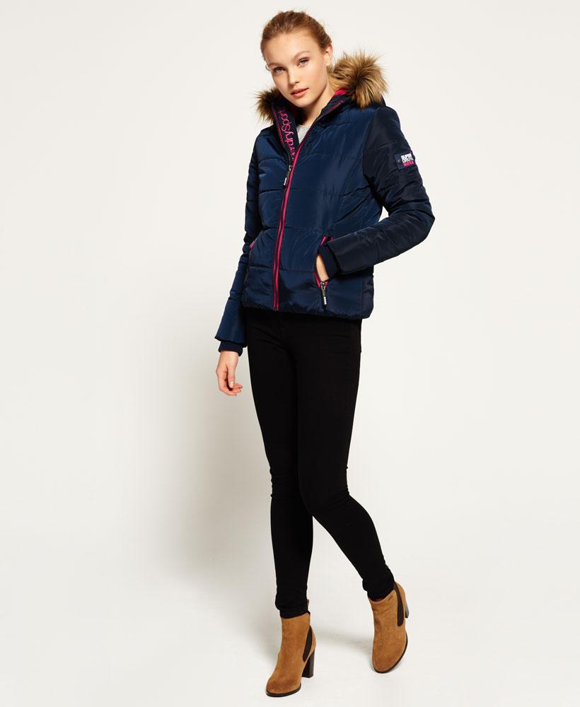 Superdry Sports Toggle Padded Jacket Womens Jackets