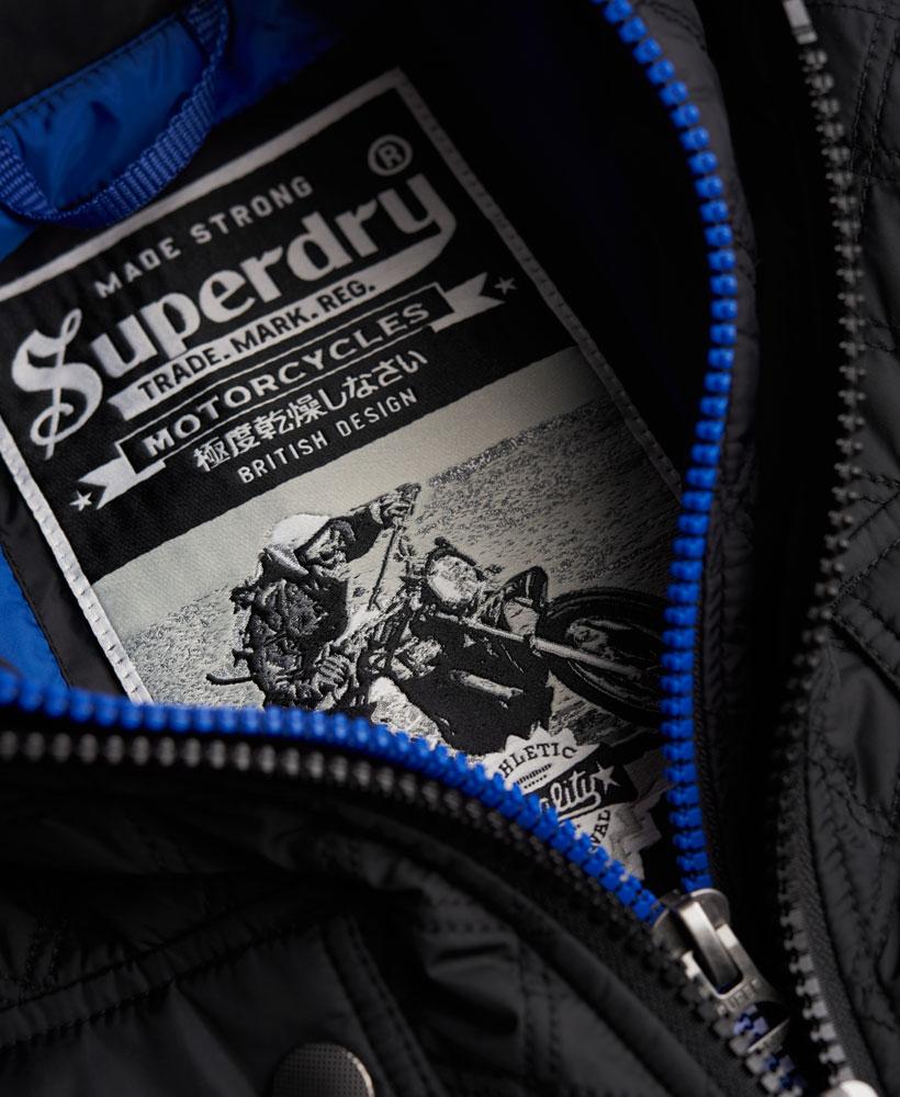 441ff3d275dee5 Sentinel New Mens Superdry Apex Quilt Jacket Black
