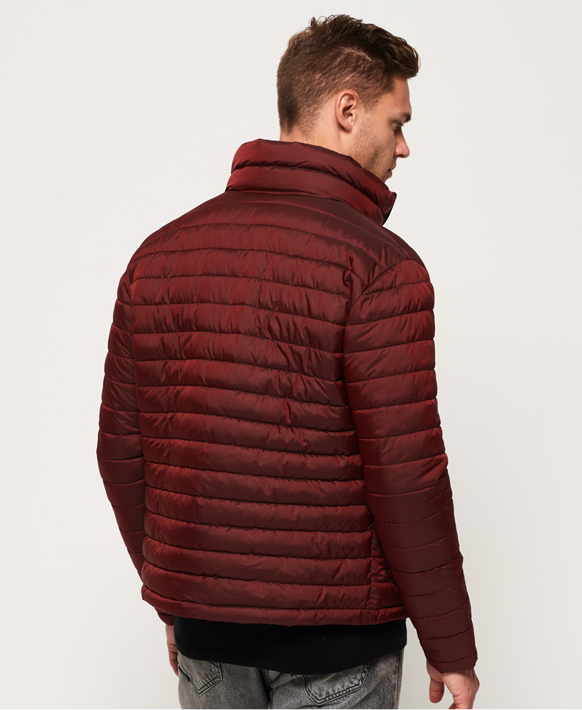 Details Fuji About Double Dark Superdry Zip Mens Red Jacket bvYg76fy