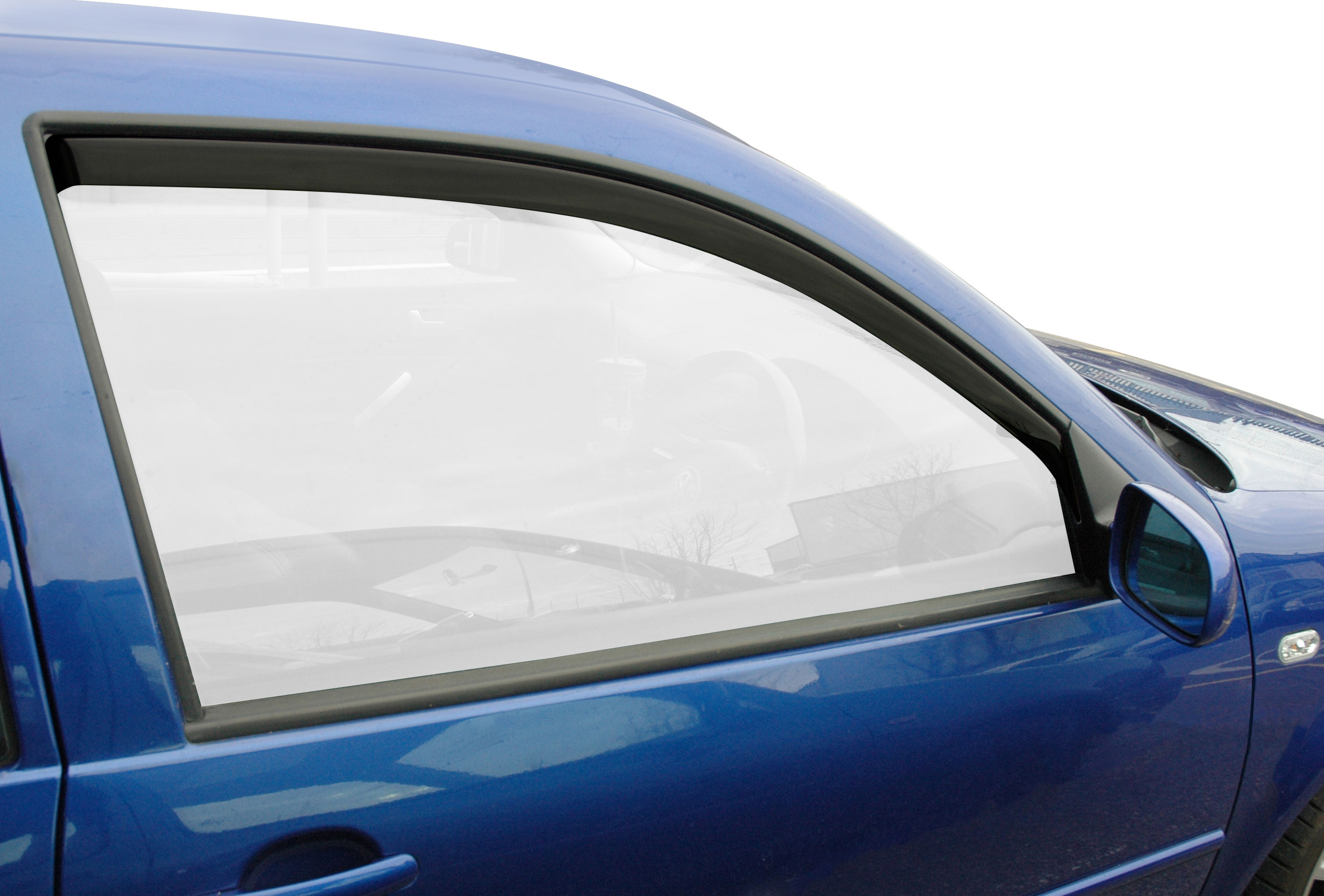 Smoked T5 Wind Deflectors WC853T501 In Channel