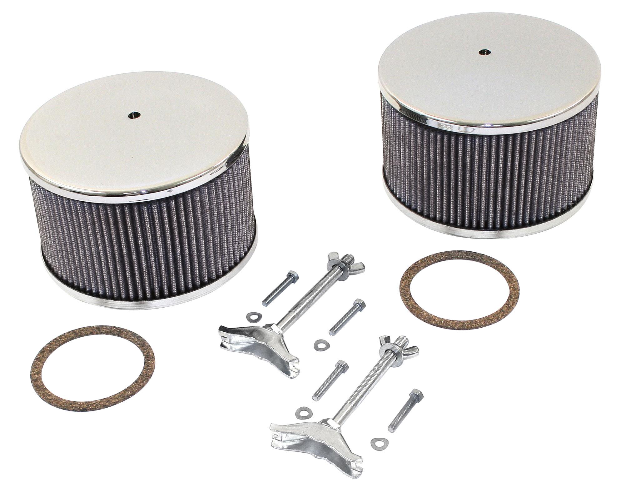 TYPE 2 SPLIT Airfilter element for EMPI//Kadron Carburettors