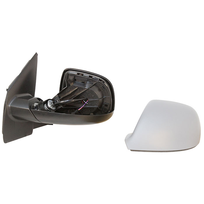 Electric Side Mirror Convex Heated Primed RIGHT Fits VW Caddy III Wagon 2004