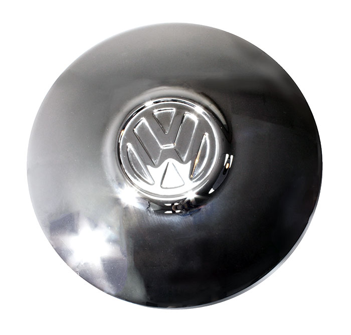 t25 VW Beetle Wolfsburg logo hub cap chrome CAMPER T2 Bay