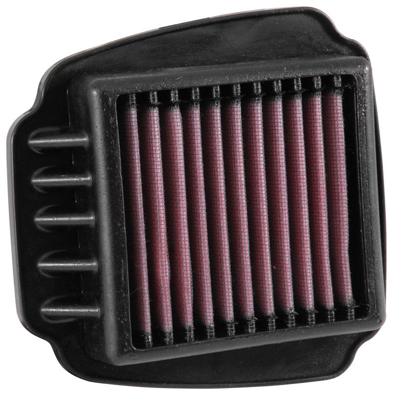 K/&N Filters YA-0700 Motorcycle Replacement Air Filter
