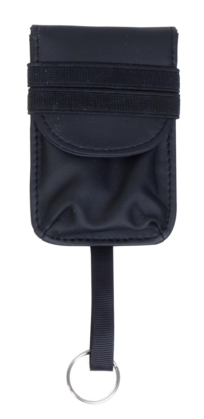 589754f64f46 Details about WRAPS RFID Signal Block Security Anti-Theft Travel Wallet  Strap Belt Bag Keyring