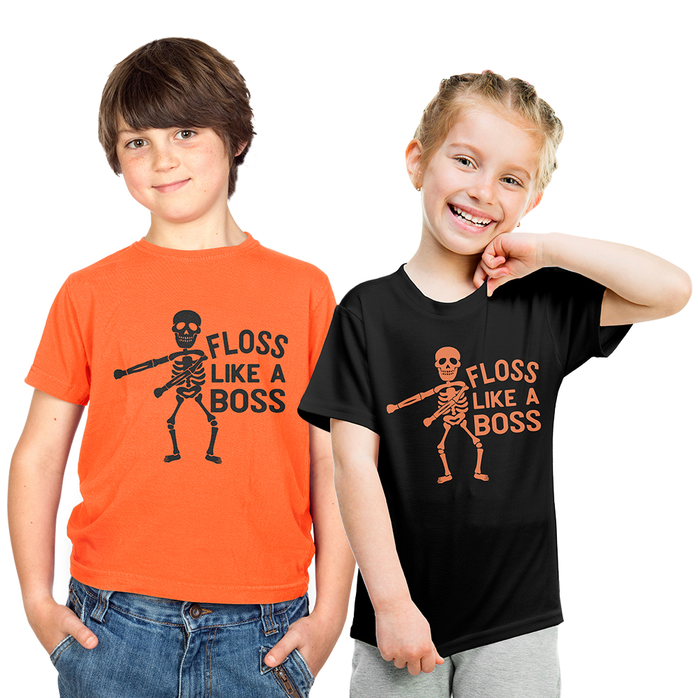 Children's Floss Like A Boss T Shirt