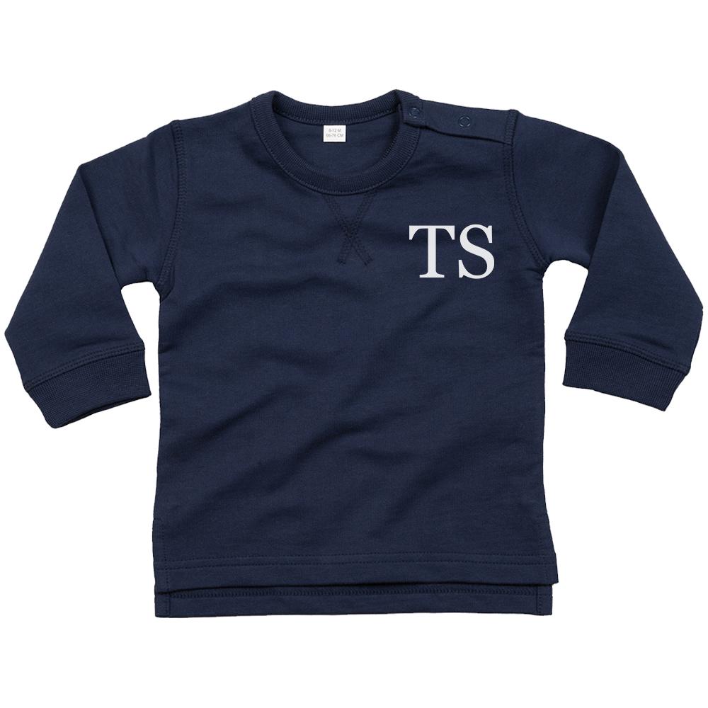Personalised Custom Name Sweatshirt Toddler Boys Girls Jumper T shirt Tracksuit