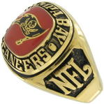 Tampa Bay Buccaneers Football Team NFL Ring Sz 7.5 Gift Box By Balfour