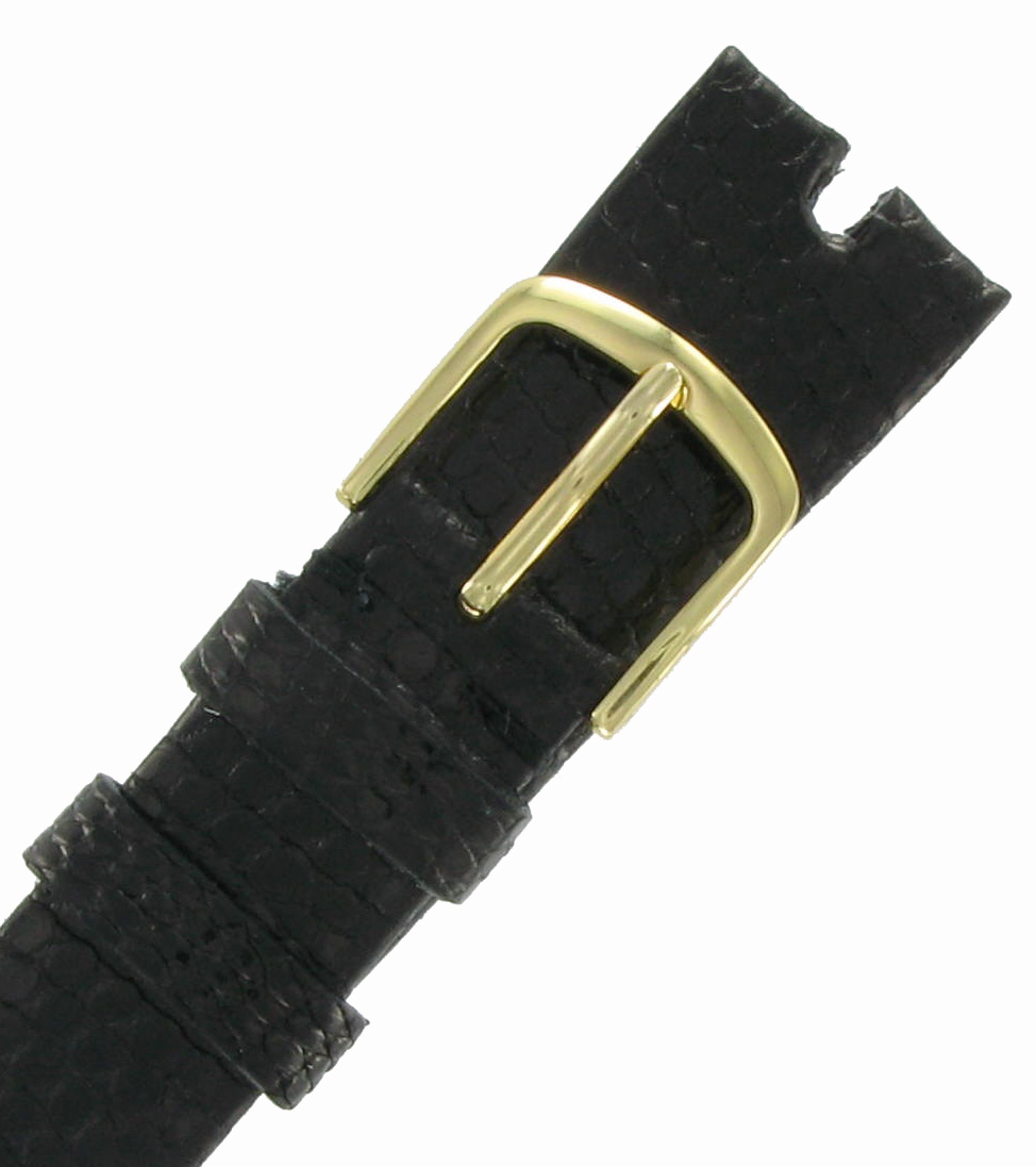 Hadley Roma MS972 18mm Brown Java Lizard Watch Strap Band