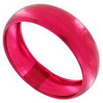 Ky & Co Bracelet Bangle Jewel Tone Metal Wide Statement Fuschia Pink