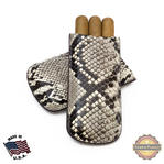 Tampa Fuego Natural Cigar Case Genuine Python Father's Day Thumbnail 1