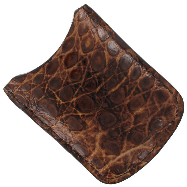 Tampa Fuego Natural Cigar Lighter Case Crocodile Vintage Fits Xikar Father's Day