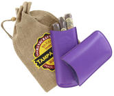 Tampa Fuego Cigar Case Genuine Leather Purple Unlined Father's Day Thumbnail 5