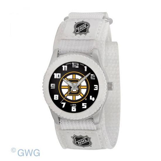Boston Bruins NHL Rookie White Unisex Juniors Watch