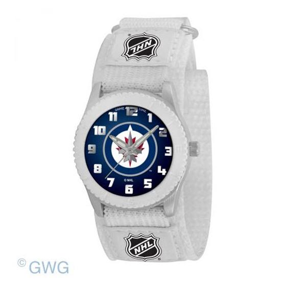 Winnipeg Jets NHL Rookie White Unisex Juniors Watch