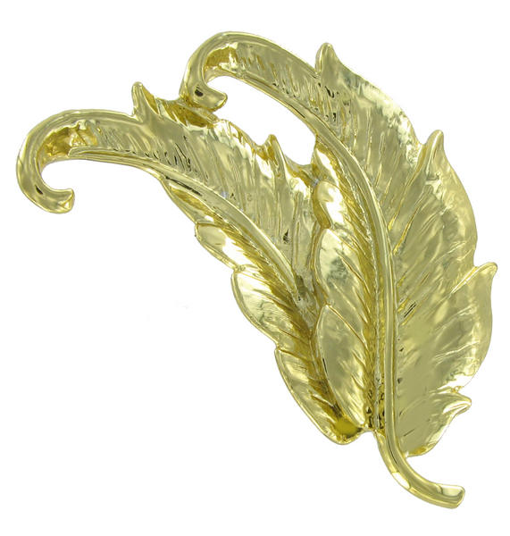 Danecraft Feather Pin Brooch