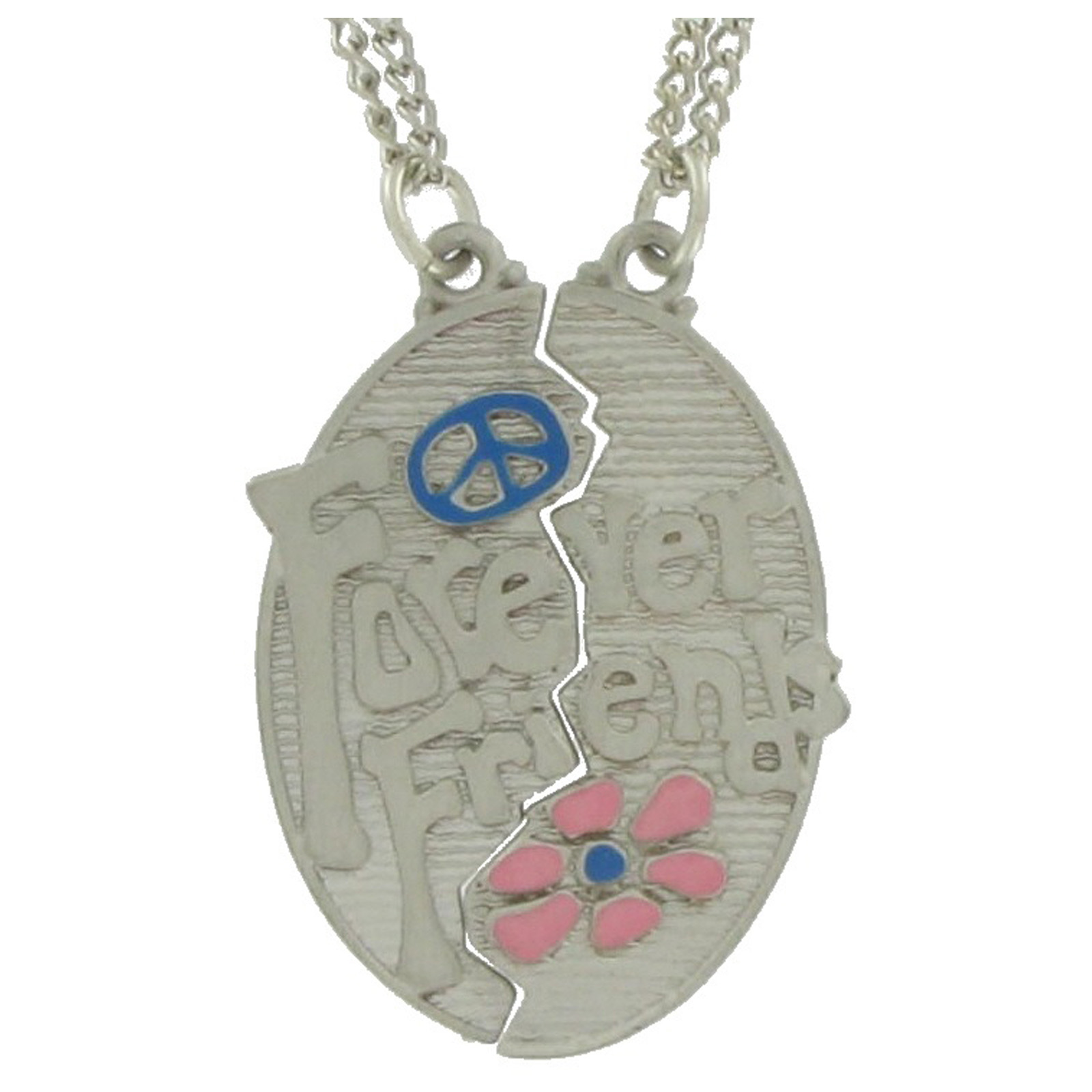 Pendant Bff Necklace Set Best Friends Forever Thumbnail 2