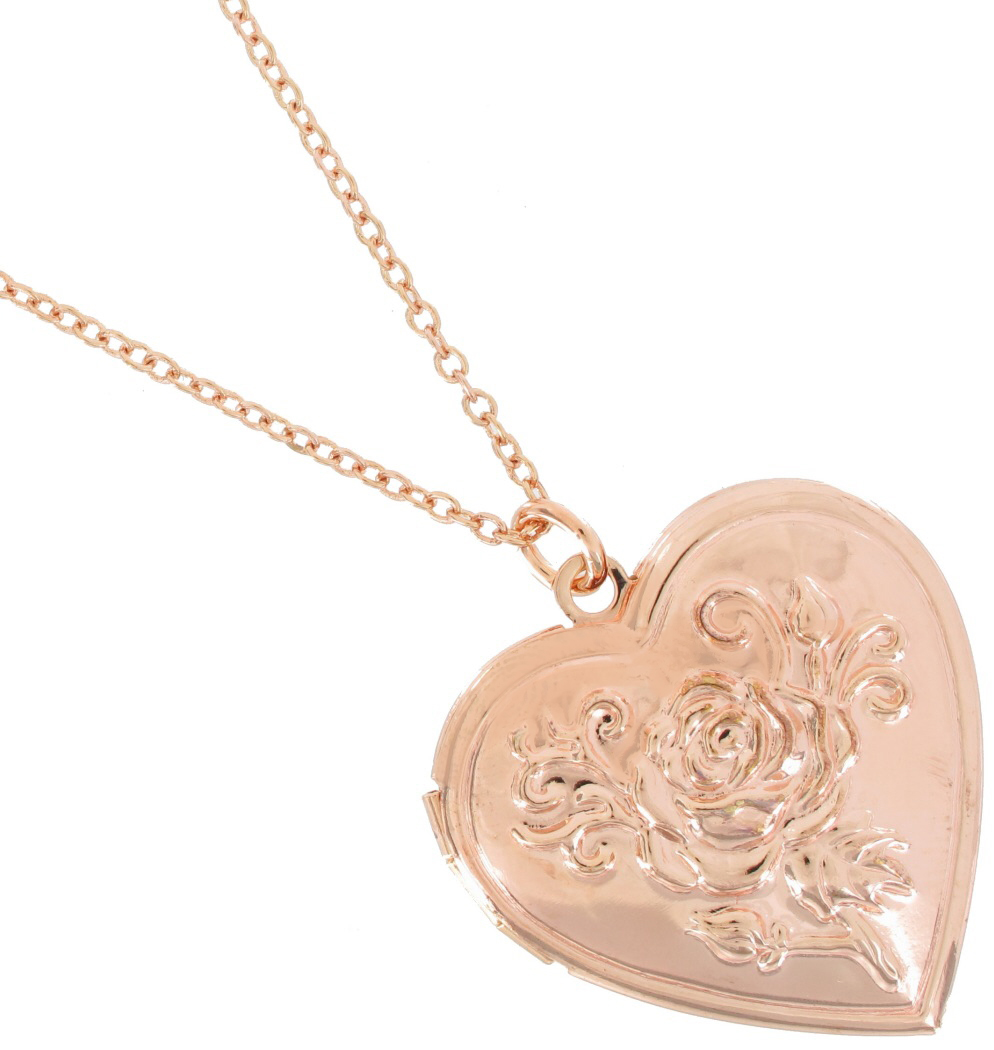 mermaid tone s scales locket gold claire pendant heart necklace