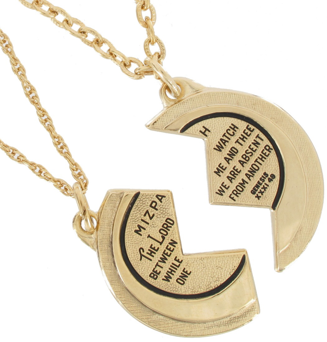 Jewish coin necklace 1336 22 f jewelry gifts and gift sets foster necklace bff set new mizpah coin best friends genesis pendant gold tone thumbnail 2 aloadofball Image collections