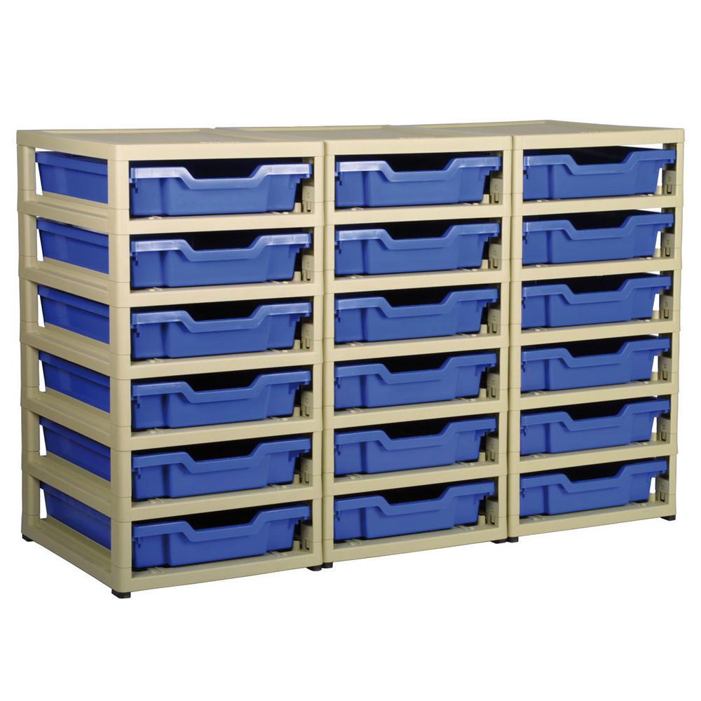 Gratnells 18 Tray Storage Units  sc 1 st  Bernardu0027s Bins & Gratnells 18 Tray Storage Units | Gratnells Storage Racks ...