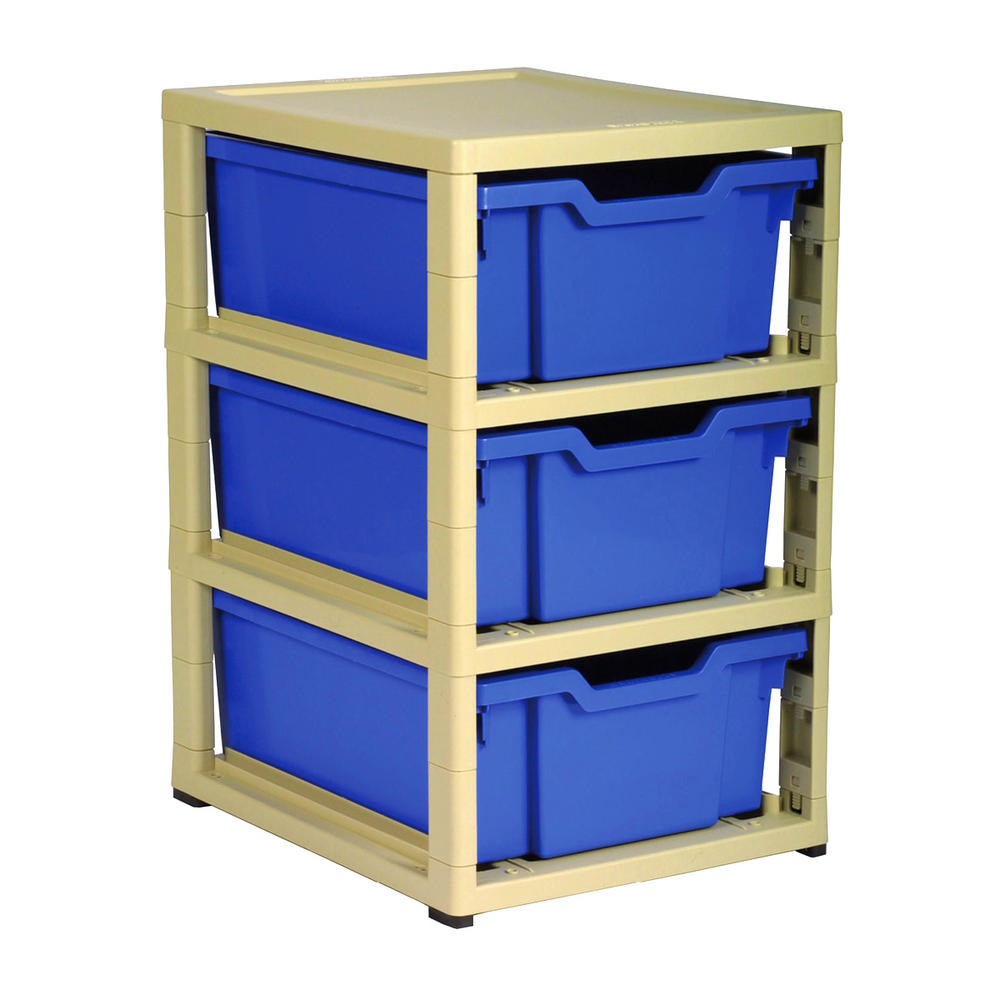 Gratnells 3 Tray Storage Units