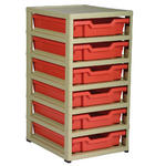 Gratnells 6 Tray Storage Units Thumbnail 1