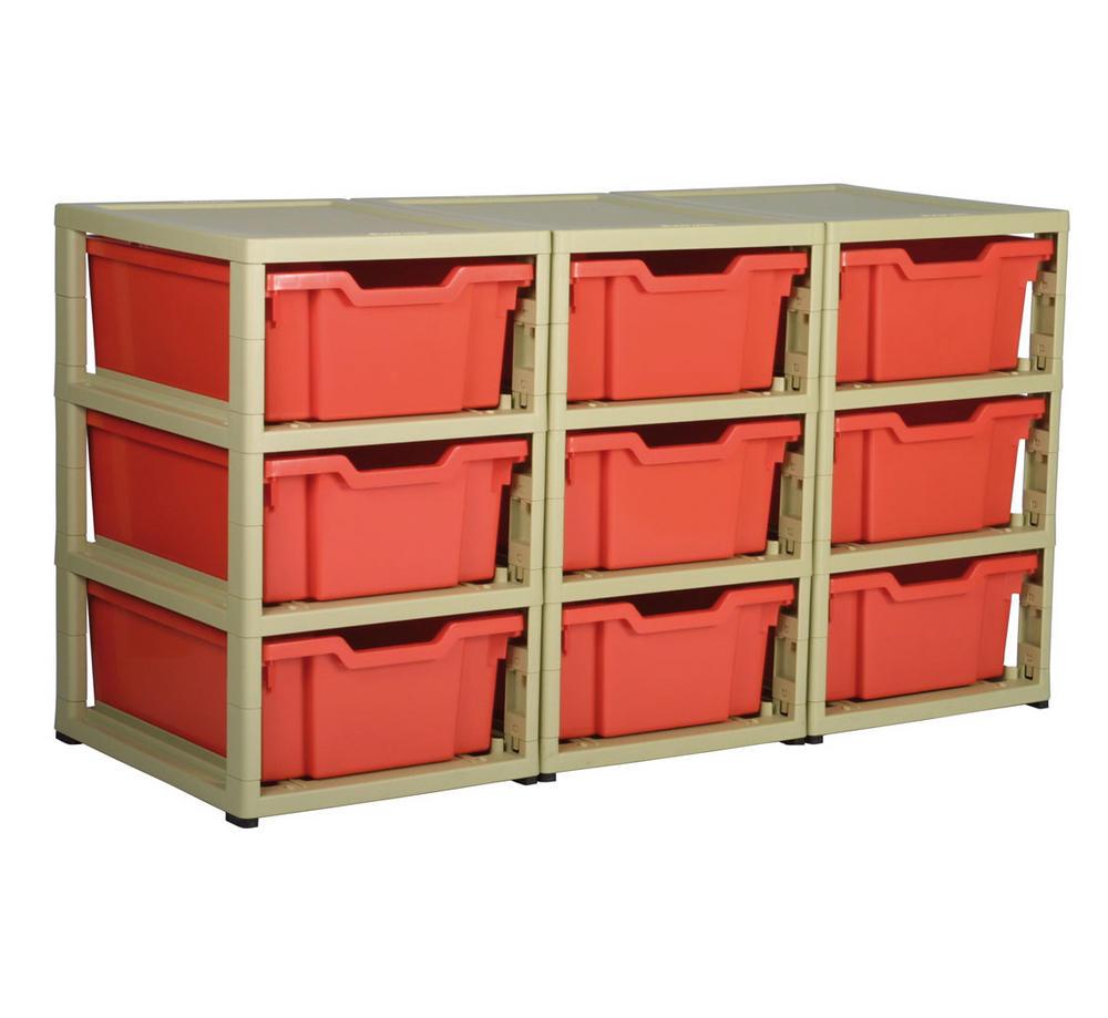 Gratnells 9 Tray Storage Units