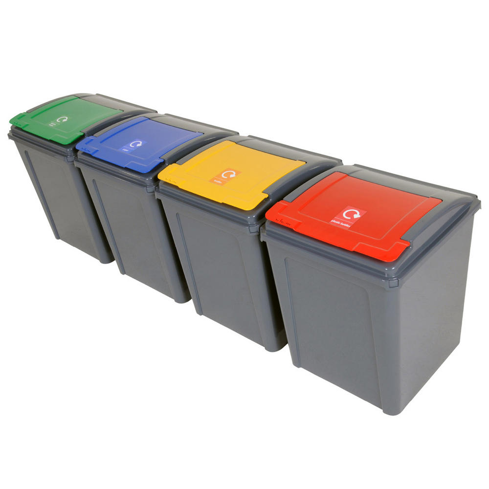 Wham Economy Recycle Bins 50 Litre Recycling Bins