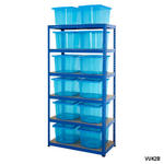 Shelving Storage Bays With Plastic Boxes Thumbnail 4