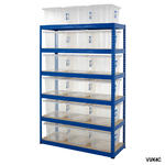 Shelving Storage Bays With Plastic Boxes Thumbnail 9