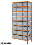 915mm Wide Shelving Kits With Euro Containers Thumbnail 10