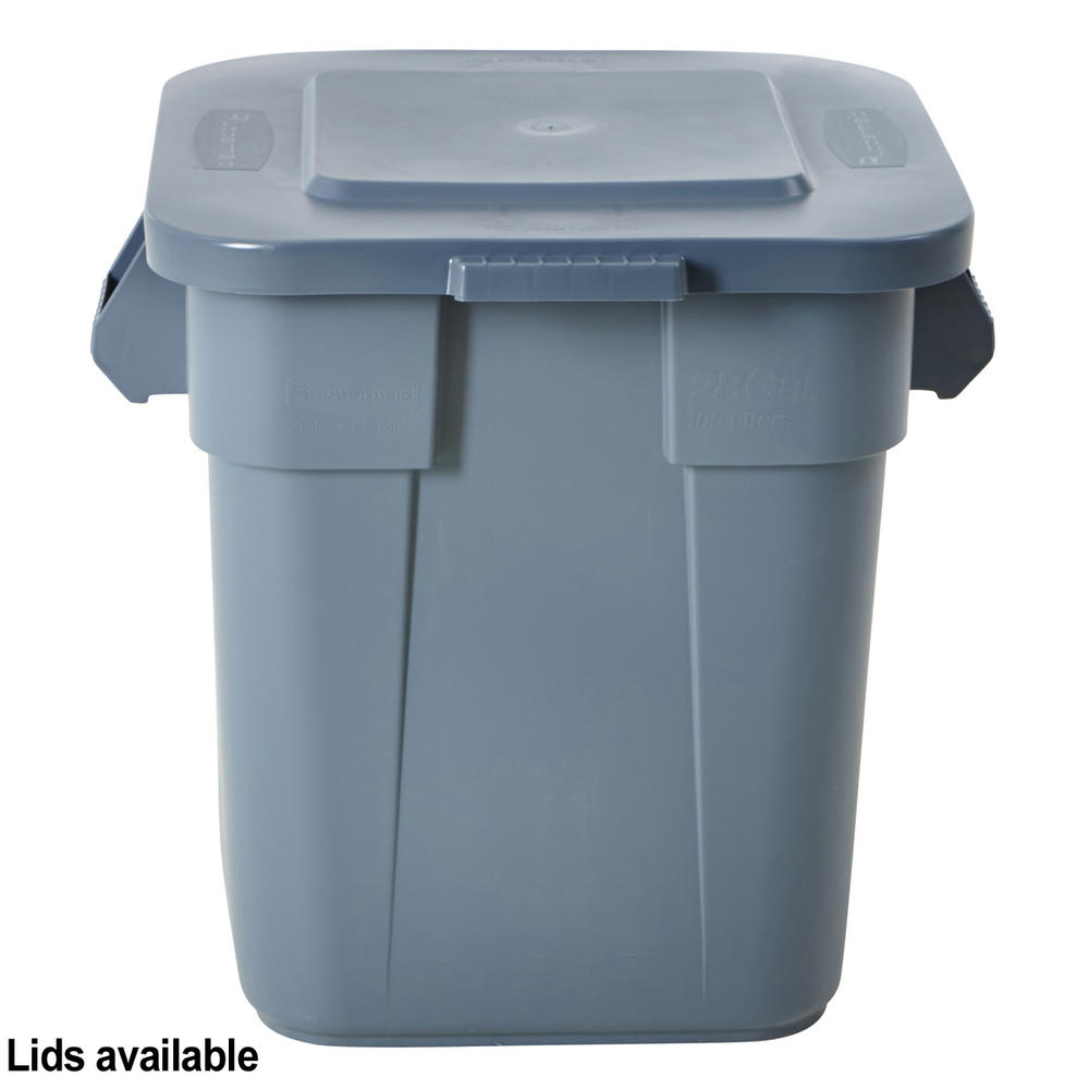 Rubbermaid Brute Square Container Bins Rubbermaid Brutes