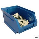 Blue Plastic Parts Bins Thumbnail 5