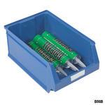 Blue Plastic Parts Bins Thumbnail 10