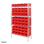 Chrome Shelving Bin Kits Thumbnail 5
