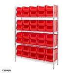 Chrome Shelving Bin Kits Thumbnail 9