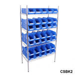 Chrome Shelving Bin Kits Thumbnail 6