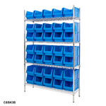 Chrome Shelving Bin Kits Thumbnail 11